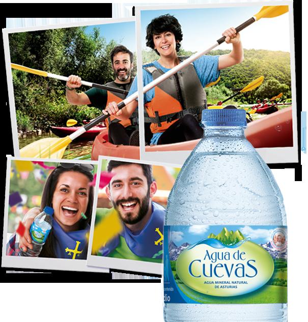 Botella Agua de Cuevas
