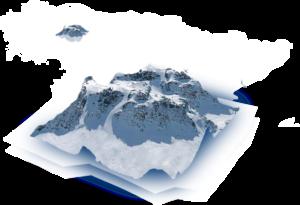 Mapa montañas asturias
