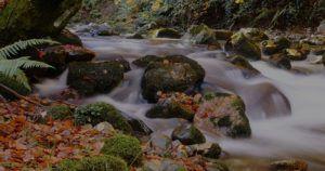 Escurrimiento de agua a ríos