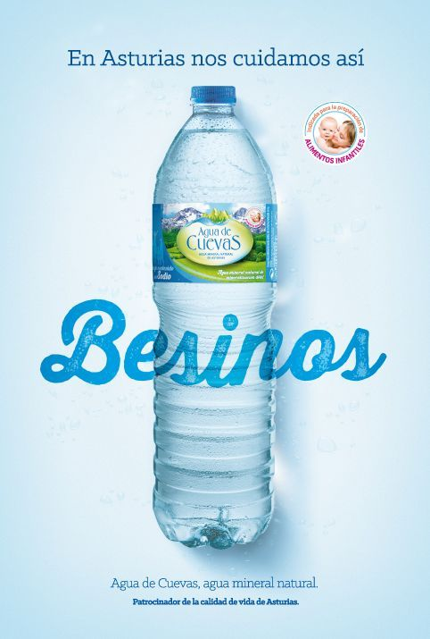Besinos-Agua de Cuevas: Agua Mineral de Asturias