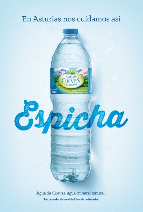 Espicha-Agua de Cuevas: Agua Mineral de Asturias