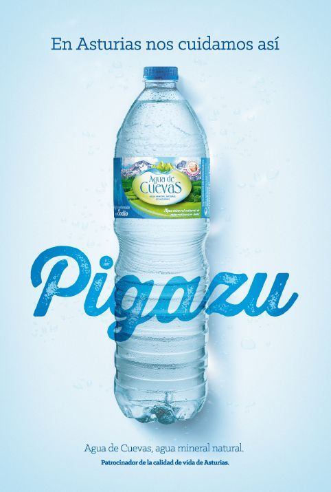 Pigazu-Agua de Cuevas: Agua Mineral de Asturias