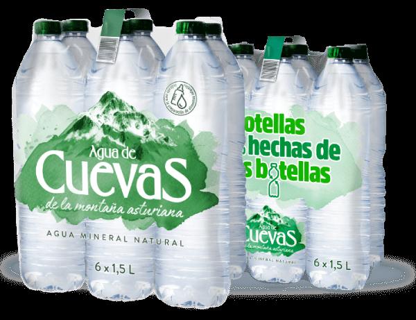 Botellas 100% hechas de otras botellas